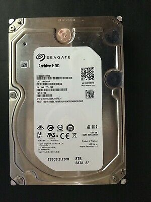 Seagate (ST8000AS0002) 8TB Archive SATA III (3.5 ) 6Gbps 5.9K 128MB Hard Drive • 99.99£