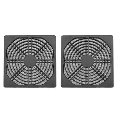 Dustproof 120mm Case Fan Dust Filter Guard Grill Protector Cover PC Compute • 4.77£