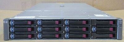 HP MSA60 Modular Smart Array 2U 10TB HDD 1x SAS I/O Module 399049-001 418408-B21 • 300£