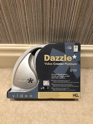 Dazzle Video Creator Platinum Transfer Videos From Tape To DVD • 19.95£