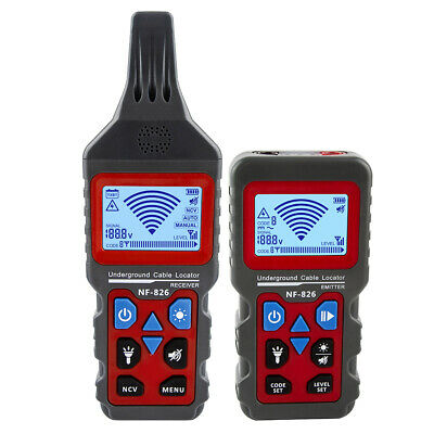 Professional NF-826 Wire Tracker Locator Underground Wire Detector Cable Finder • 95.39£