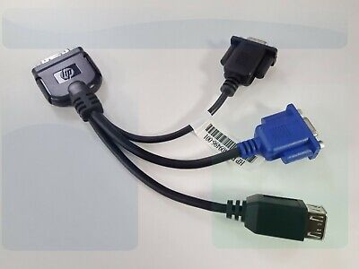 HP 409496-001 Local I/O Diagnostic Cable (SUV) For HP Blade Servers - NEW  • 28.99£