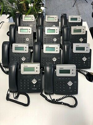 Yealink T20P VOIP Office Phones - 11 Available • 30£