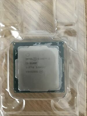 Intel Core I3-9100F - 3.60 GHz Quad-Core Processor ( No Box Included ) • 27£