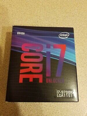 Intel Core I7-9700K 3.60GHz Processor • 270£