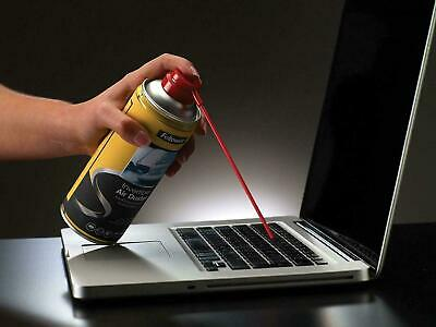 FELLOWES Air Duster Can , PC Keyboard Printer Dust , Safe Compressed Canister • 4.77£
