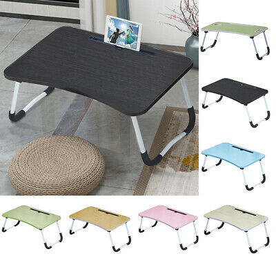Bed Computer Desk Folding Laptop Table Stand Picnic Stand Notebook Tray Home • 13.99£