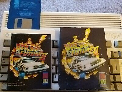 Back To The Future 2 Commodore Amiga Game Tested See Pics Vgc  • 5.99£