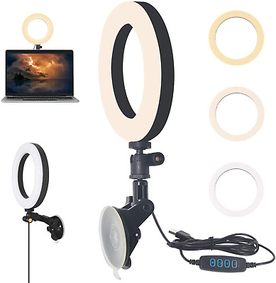 YMCRLUX Webcam Lighting For Zoom Calls, Virtual Meeting, Video Conferencing, USB • 24.63£