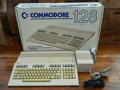 Commodore 128 Personal Computer Boxed With Manuals • 349.95£