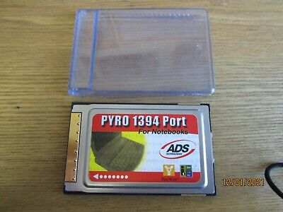 PYRO 1394 Port For Laptops / Notebooks IEEE 1394 CardBus • 3.50£