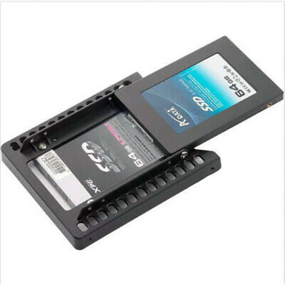 2.5''SSD HDD SATA Hard Disk To 3.5'' Drive Converter Adapter Bracket Tray Holder • 3.09£