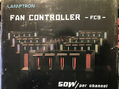 Lamptron Fc9 Fan Controller - 50w Each Of 4 Channels High Power Handling Black • 14£