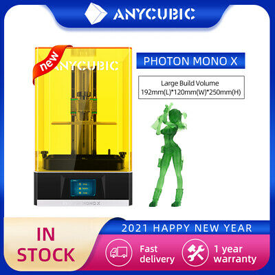 ANYCUBIC LCD 3D Printer Photon Mono X 192x120x245mm APP Remote Control WIFI UK • 555£