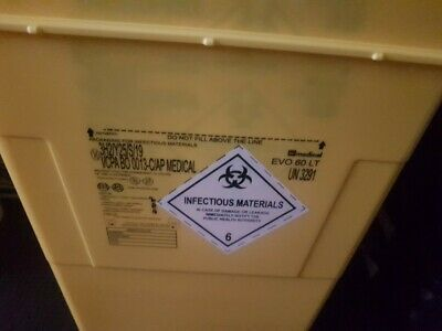 10 BINS For Infectious Material AP MEDICAL. • 80£