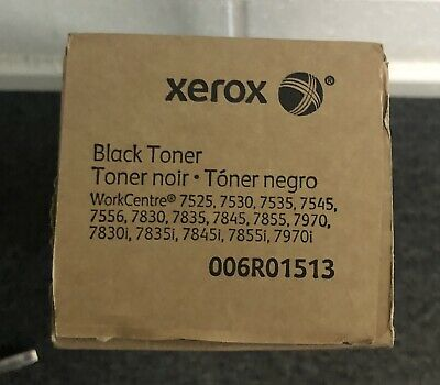 Genuine Black Toner Cartridge For Xerox WorkCentre 7525 7530 7535 7545 006R01513 • 50£