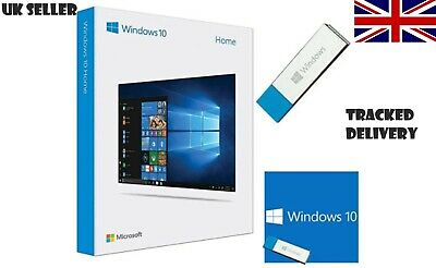 Brand New Microsoft Windows 10 Home Usb Full Version Kw9-00259 • 49.99£