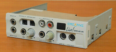 Creative Labs Live Audyigy  Sound Bay Model SD0010 • 12£