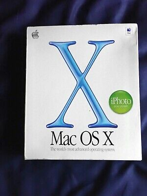 Mac OS X 10.1.3 Plus OS 9.2 On CD With Original Box • 10.60£