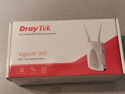 DrayTek AP903 Dual Band Access Point 802.11ac Mesh Wireless AP 903 • 79.99£