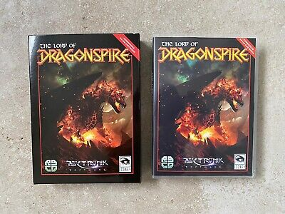 The Lord Of Dragonspire RGCD Psytronik C64 Commodore 64 Cartridge • 55£