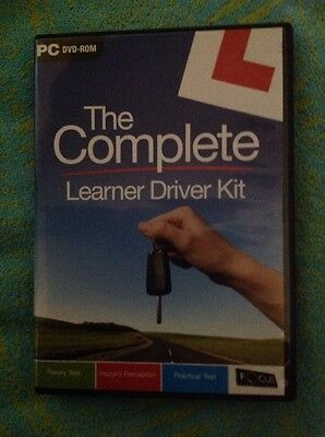 The Complete Learner Driver Kit Pc Dvd-rom • 0.99£