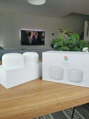 Google Nest Wifi Router And Point • 130£