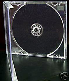 25 Cd Jewel Cases Complete With Clear Trays 'grade A' • 4.39£