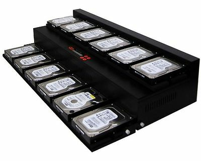 1-11 Hard Drive / Solid State Drive (HDD/SSD) Duplicator (150MB/sec) - FlatBed • 3,415£