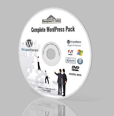 Complete WordPress Pack  - Thousands Quality Themes, Videos, Plugins And More! • 17.99£