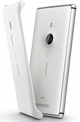 Genuine Nokia Cc-3065 Wireless Charging Shell Cover Case For Lumia 925 | White • 9.90£