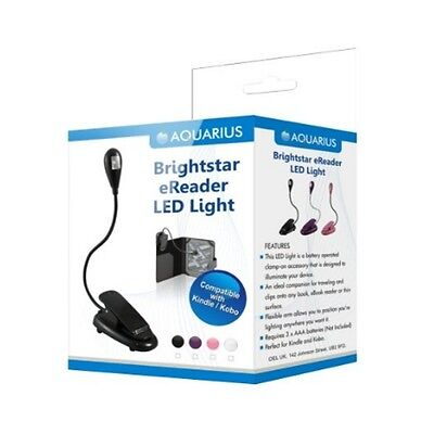 Brightstar Flexible Clip On LED Light For Kindle/Touch 3G/Kobo Touch EReaders • 5.99£