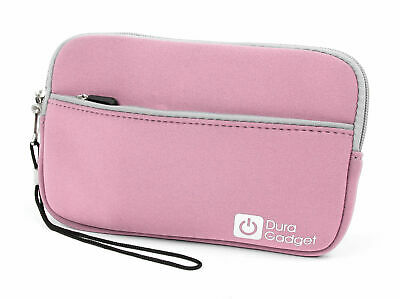 Pink Storage Case For Kobo Aura HD EReader + Compact Retractable Data Sync Wire • 7.99£