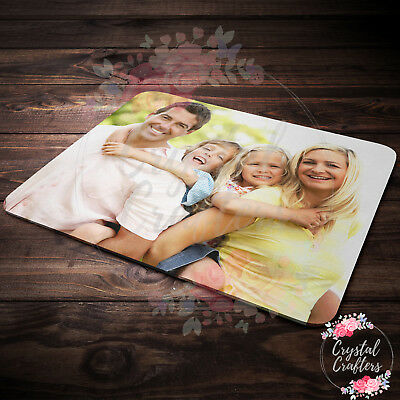 Personalised Custom Computer Mouse Mat Pad - Upload Your Own Photos!  • 3.49£