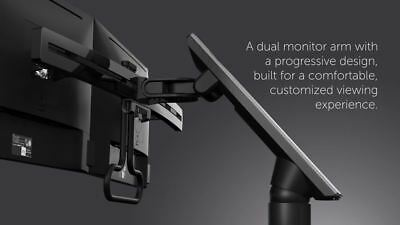 Dell MDA17 Dual Monitor ArmSupports And Suspends Two Monitors • 100£