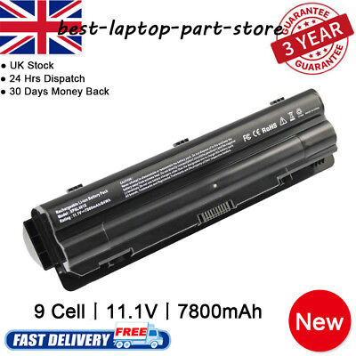 Battery For Dell XPS 14 15 17 L401x L501x L502x L701X L702X JWPHF WHXY3 R795X UK • 12.89£