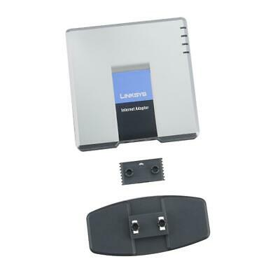 VoIp Gateway Linksys PAP2T PAP2-NA Unlocked VOIP With Two FXS Port Voicemail • 17.22£
