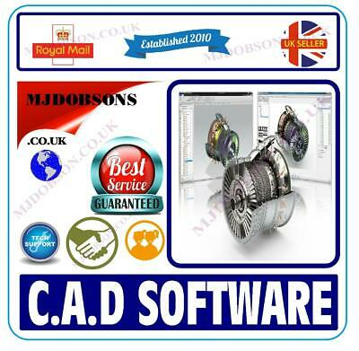 2D 3D CAD - AutoCAD DWG FILE COMPUTER AIDED SOFTWARE ENGINEERING MODEL ON DVD • 4.99£