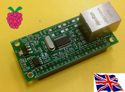 Add Extra 1 Ethernet For Raspberry Pi Zero / ZeroW B+ 2B 3B 3B+ 4B • 14.49£