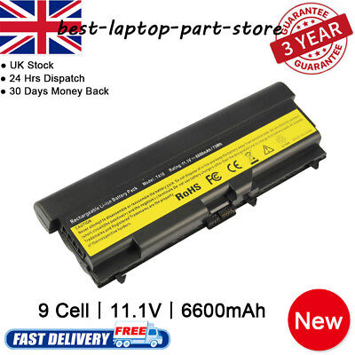 9 Cell Laptop Battery For Lenovo ThinkPad T410 T420 T510 T520 W510 W520 SL410 • 15.99£