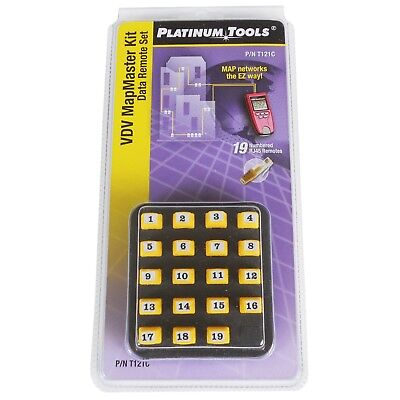 Data Remotes For VDV Mapmaster Network Tester Platinum Tools T121 • 50£