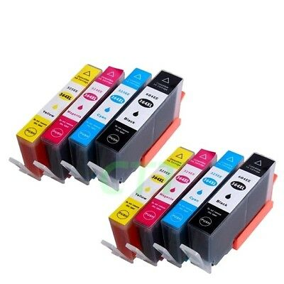 8 CHIPPED HP 364XL INK CARTRIDGES For PhotoSmart 5520 5510 6520 B110a Non-oem • 11.99£