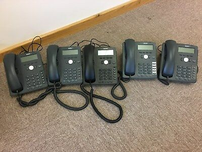 5 Phone Handsets - Snom 710 Black/dark Grey. Used But Good Condition. • 170£