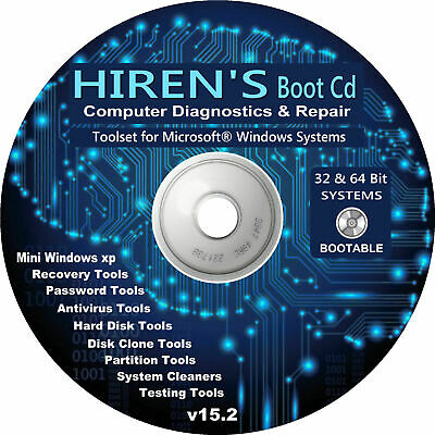 Recover & Repair Windows PC Laptop Computers Boot Disc For Win 10 8 7 Vista XP  • 2.79£