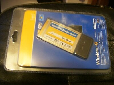 Wireless Pcmci Adapter  New Wireless G Wat3 • 11.95£