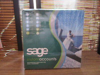 SAGE Instant Accounts Software, Accounting, Book Keeping Windows XP & 2000,(NEW) • 49.99£