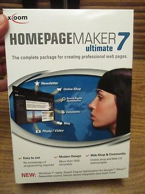 Homepage Home Page Maker Ultimate  7 • 11.99£
