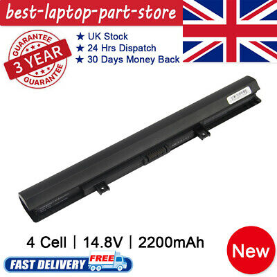 Laptop Battery For Toshiba Satellite L50-B L55-B L50-C L50-B-191 C50-B-14D 4Cell • 13.99£