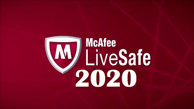McAfee LiveSafe 2020 One Device 12 Month License New & Existing Customers • 9.75£