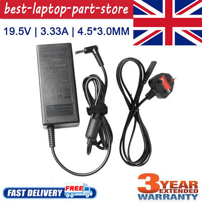 For HP Stream 11 13 14 15 710412-001 Laptop Adapter 65W AC Power Charger Fast • 9.49£